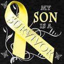 My Son is a Survivor (yellow) T-Shirt
