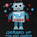 Robot Geared Up 2nd Grade T-Shirt