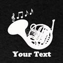 French Horn Customized T-Shirt