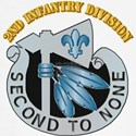 DUI - 2nd Infantry Division with Text Baseball Jer