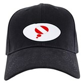Thought Bubble Dive Flag Black Cap