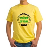 Enriched Air Diver 2008 Yellow T-Shirt