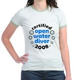 Open Water Diver 2008 Jr. Ringer T-Shirt