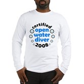 Open Water Diver 2008 Long Sleeve T-Shirt