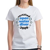 Open Water Diver 2008 Women's T-Shirt