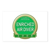 Certified Nitrox Diver 2008 Postcards (Package of