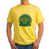 Certified AOWD 2008 Yellow T-Shirt
