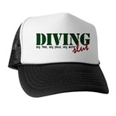 Diving Slut Trucker Hat