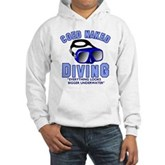 Coed Naked Diving Hooded Sweatshirt