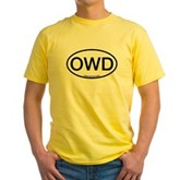 OWD Oval Yellow T-Shirt