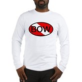 BOW Oval Dive Flag Long Sleeve T-Shirt