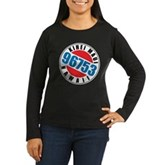 Kihei Maui 96753 Women's Long Sleeve Dark T-Shirt