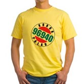 Koror Palau 96940 Yellow T-Shirt