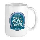 Open Water Diver 2009 Large Mug