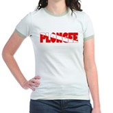 Plongee French Scuba Flag Jr. Ringer T-Shirt