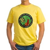 Take Only Memories (fish) Yellow T-Shirt