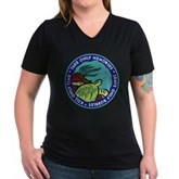 Take Only Memories (turtle) Women's V-Neck Dark T-