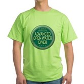 Certified AOWD Green T-Shirt