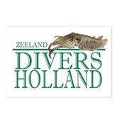 Zeeland Divers Holland Postcards (8)