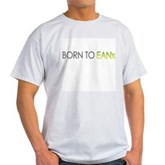 Born to EANx Nitrox Scuba Diver Ash Grey T-Shirt