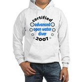AOW Diver 2007 Hooded Sweatshirt